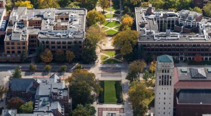 Central Campus Aerial
