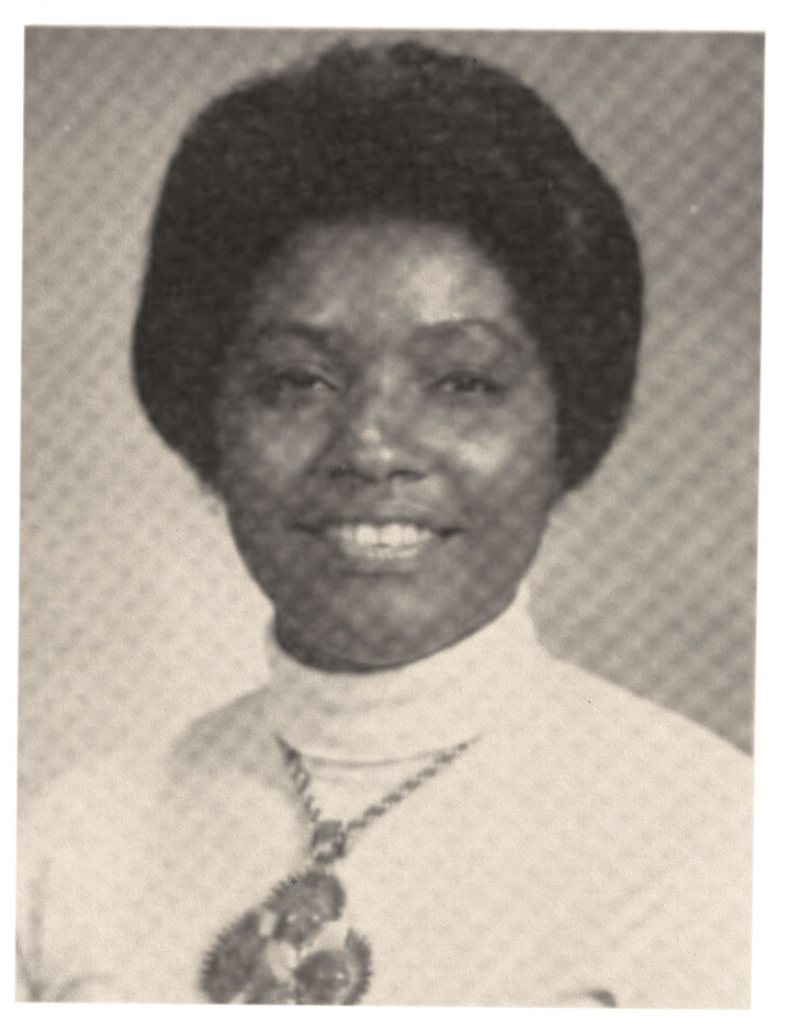 Canady's yearbook photo from the 1975 edition of Aequanimitas.