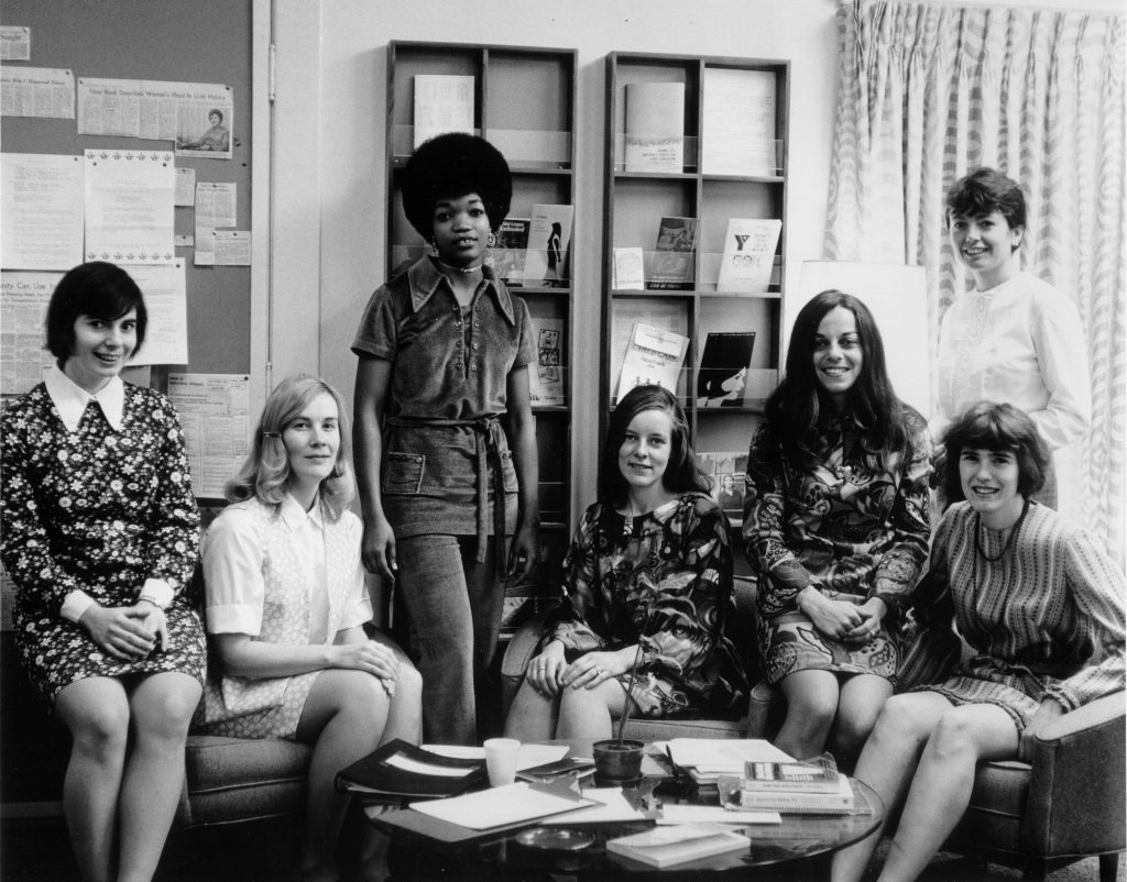 The 1971 CEW Merit Scholars. These scholarships were worth $1,500, a considerable sum considering Michigan's in-state fee per semester in 1971 was less than $500.