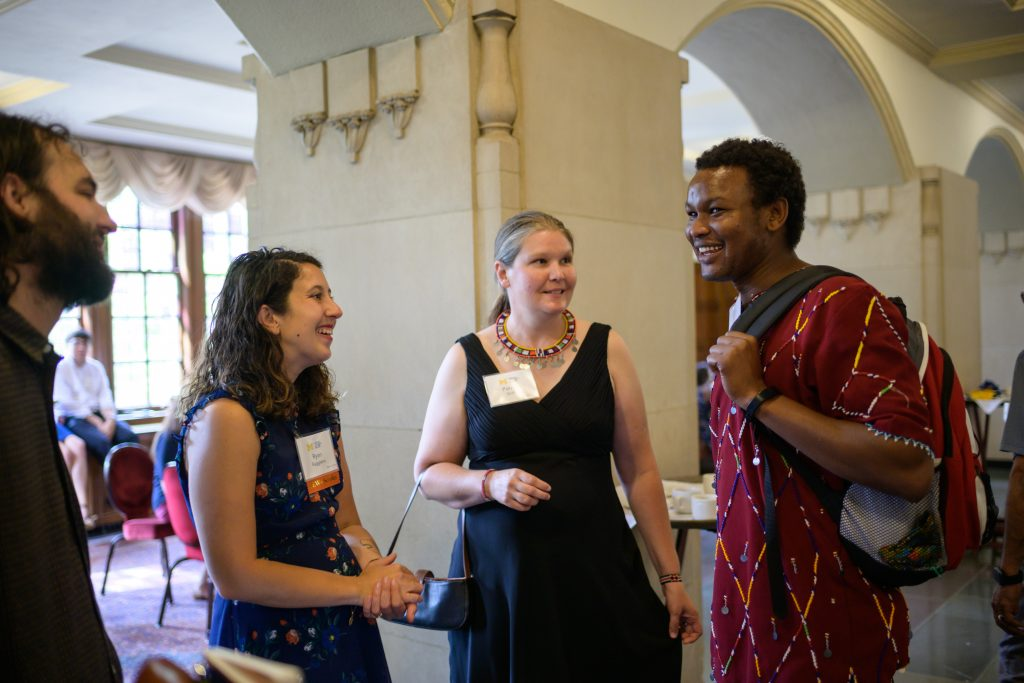 Scholars at the 2019 CEW+ Scholarship Awards Ceremony. Last year, the center awarded 72 scholarships, totaling almost $500,000.