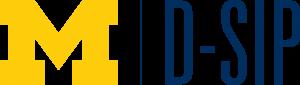 D-SIP Logo Blue Text