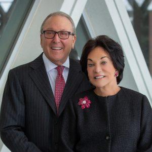 Photo of Frances and Kenneth Eisenberg