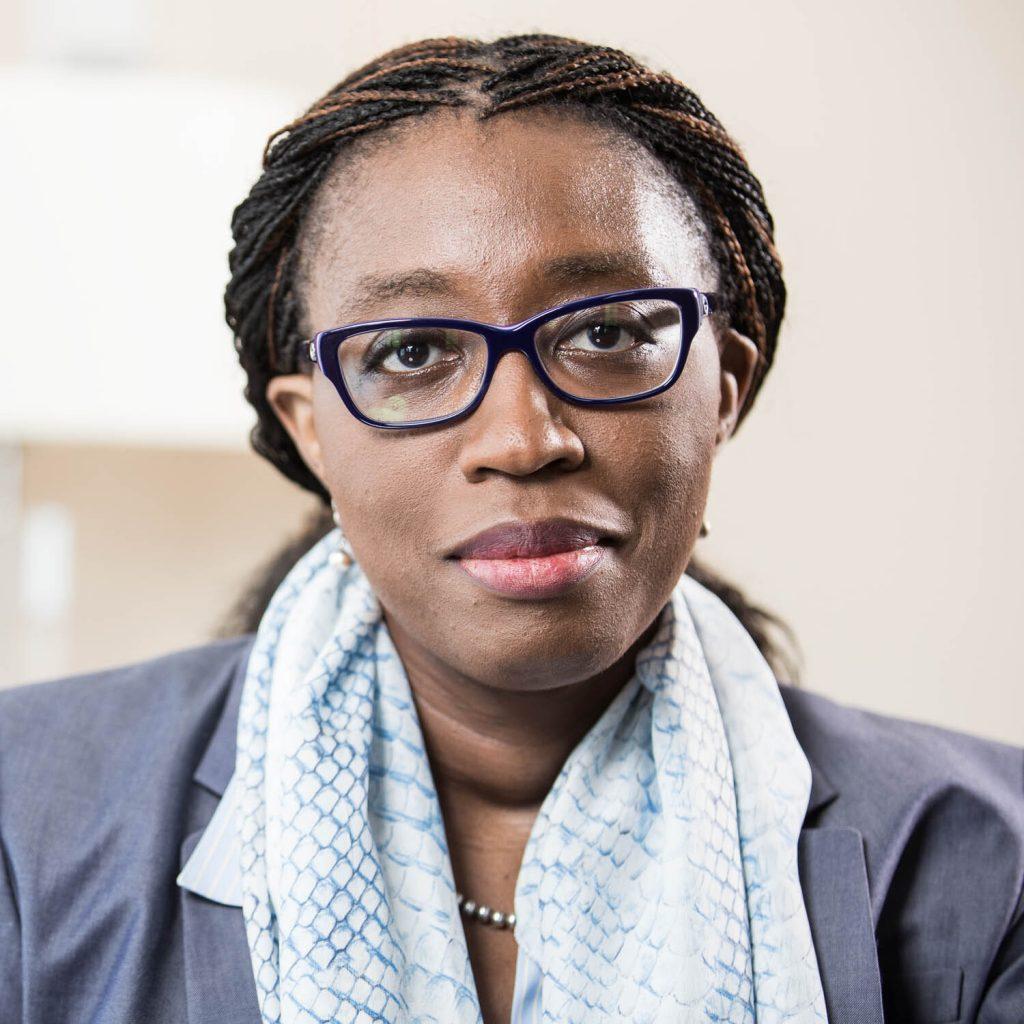 Headshot of Dr. Vera Songwe